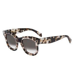 New CELINE 41397/S Grey/Brown Tortoise Sunglasses